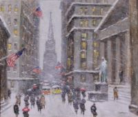 Winter on Wall Street