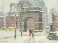 Washington Square Park, Winter