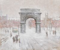 Winter, Washington Sq.