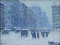 Winter on 42nd Street