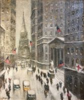Wall Street Winter