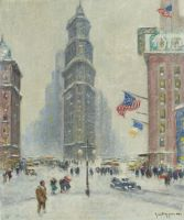 Time Square, Winter