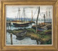 Docks and Boats, Essex, Connecticut