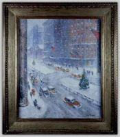 Snow Storm of 1947 (On Park Ave.)