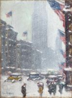 The Empire State Building, Winter