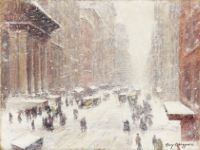 Snow Storm On The Avenue, 1917-1918