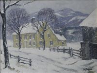 A Connecticut Homestead in Winter
