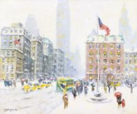 Winter at Madison Square