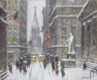 Wall St., Winter