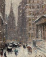 A Blizzard on Wall Street