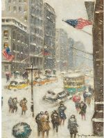 Fifth Avenue in the Snow