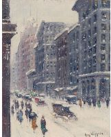 Looking South, Fifth Avenue, 1919
